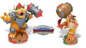 Bowser and Donkey Kong Join Skylanders this fall