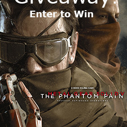 Metal Gear Solid Giveaway